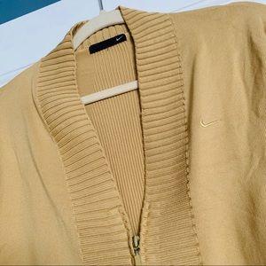 Nike Jackets & Coats - Gold Nike jacket